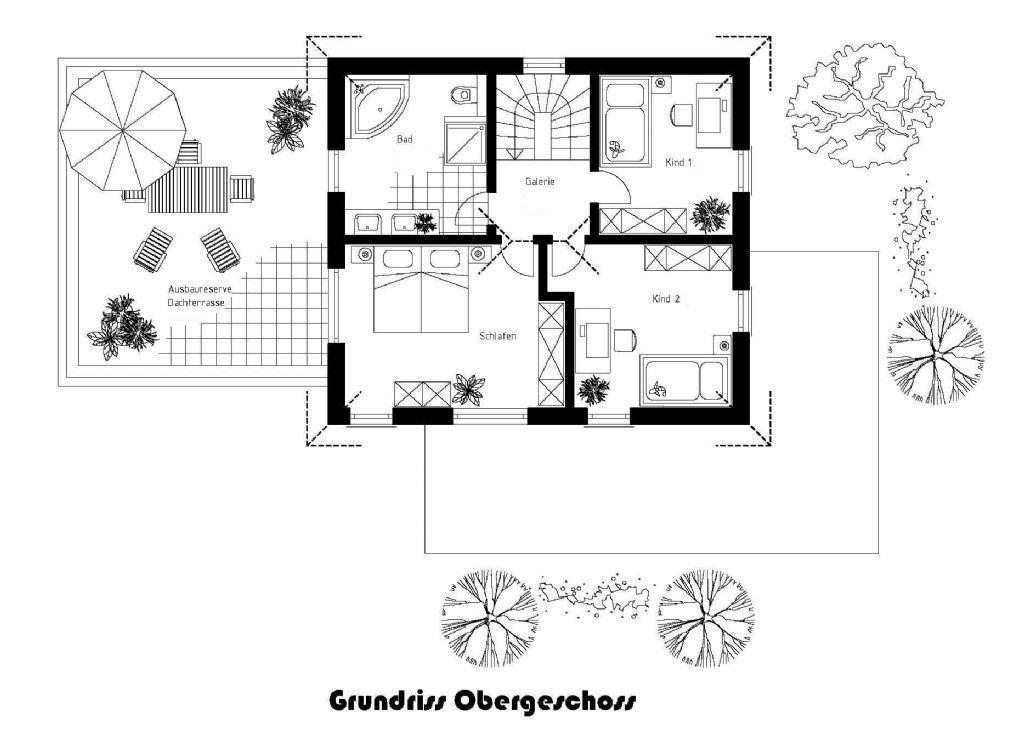 Vorschlag Grundriss Obergeschoss