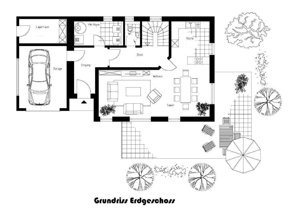Vorschlag Grundriss Erdgeschoss